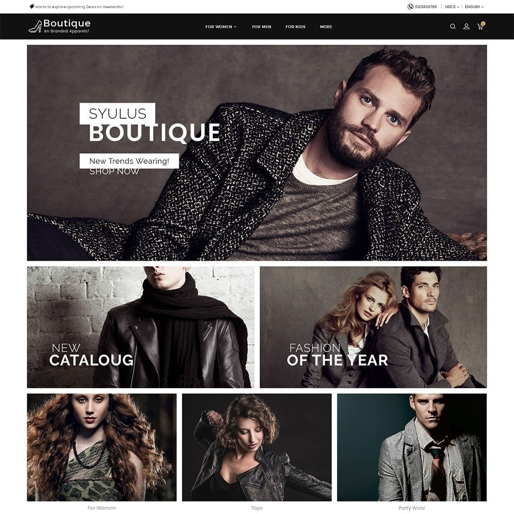 theme - Moda & Calzature - Boutique Fashion Light - 2