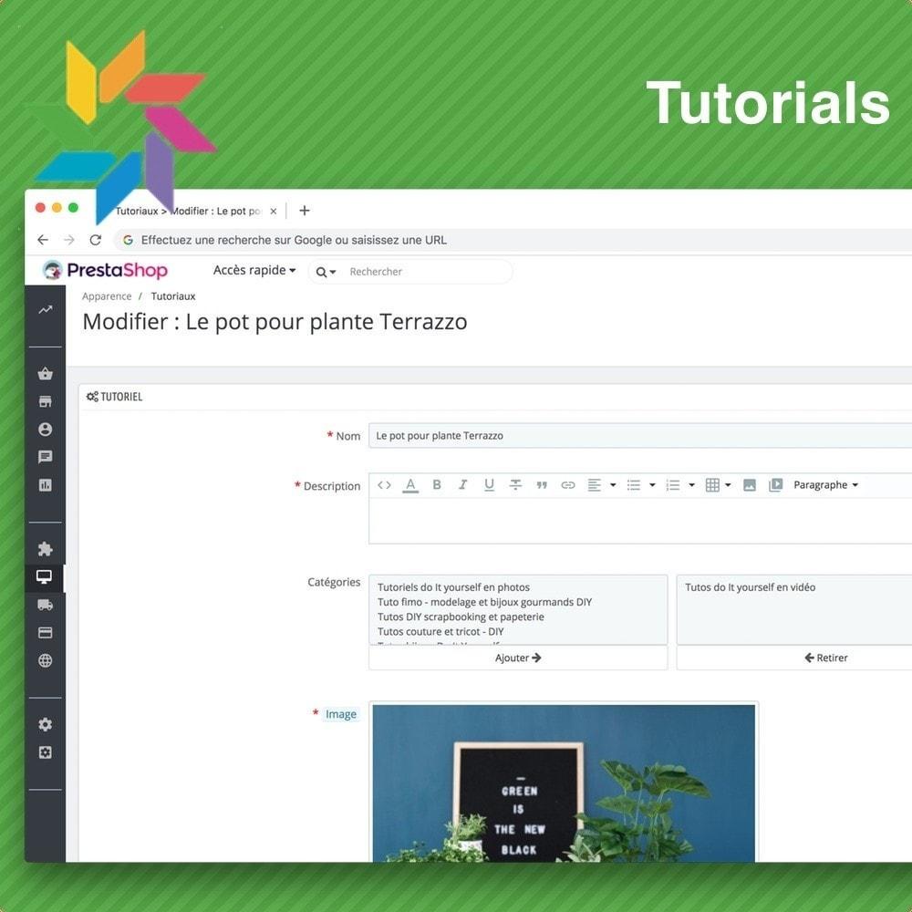 module - Blog, Forum & Nieuws - Tutorials - 5