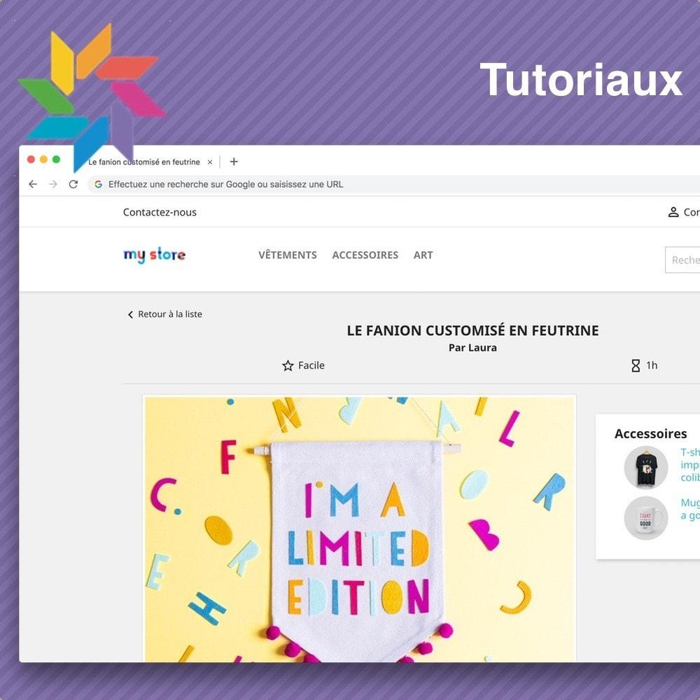 module - Blog, Forum & Actualités - Tutoriels - 2