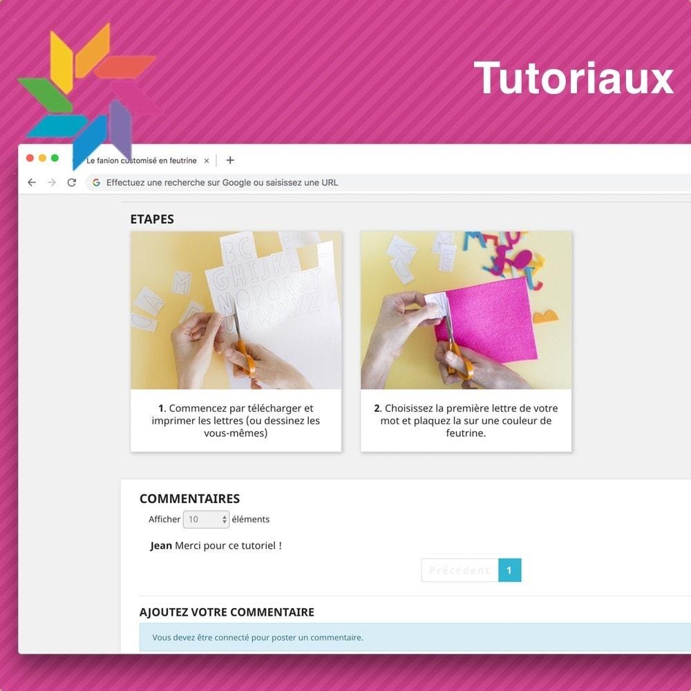 module - Blog, Forum & Actualités - Tutoriels - 3