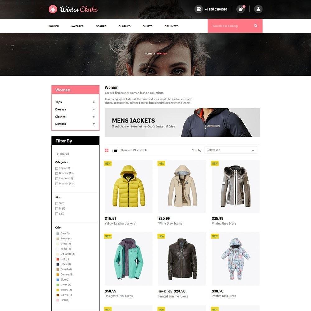 theme - Fashion & Shoes - Winter Cloth Store - 3