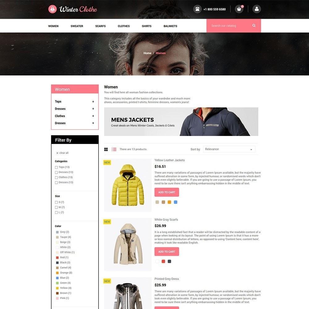 theme - Fashion & Shoes - Winter Cloth Store - 4