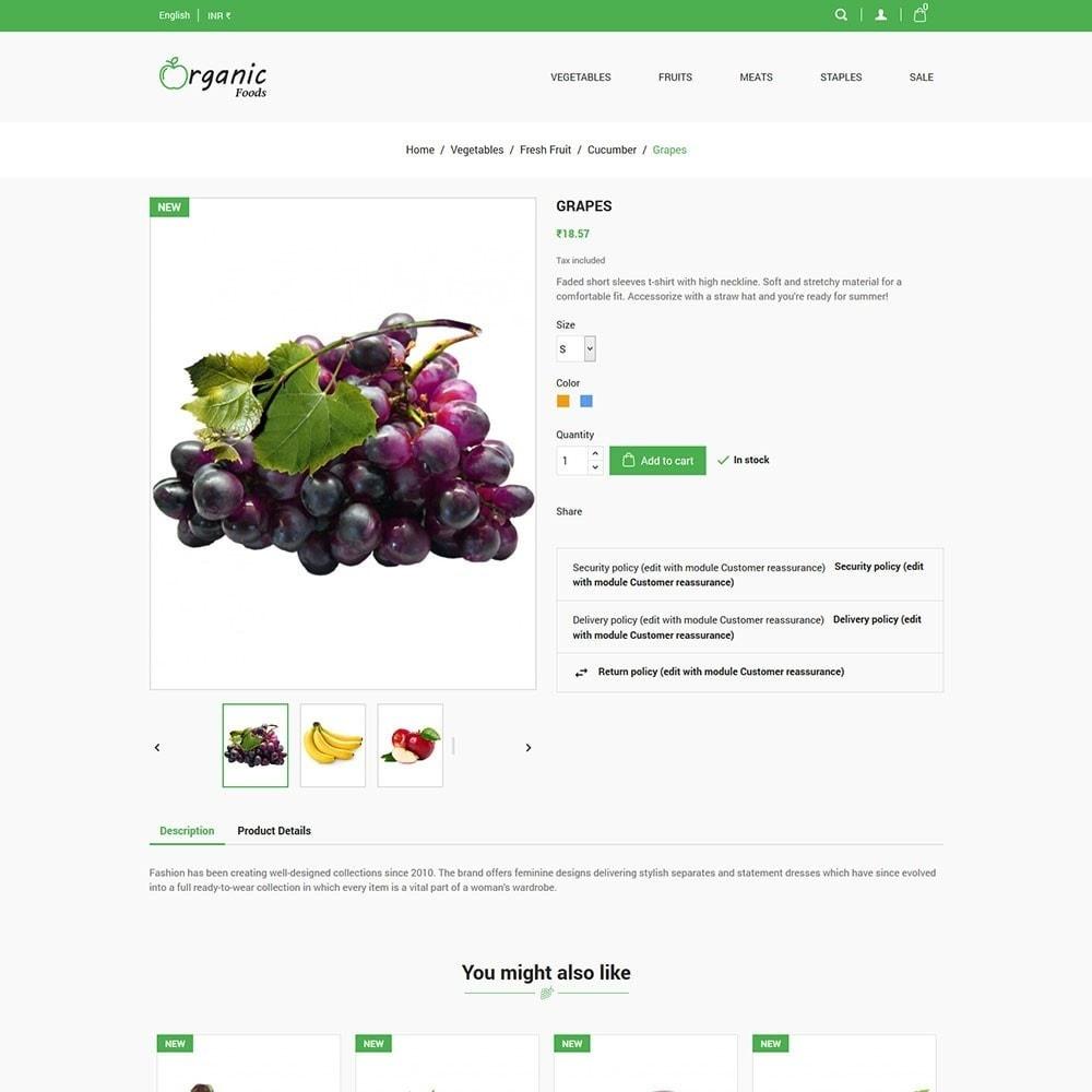 theme - Food & Restaurant - Organic Food Store - 5
