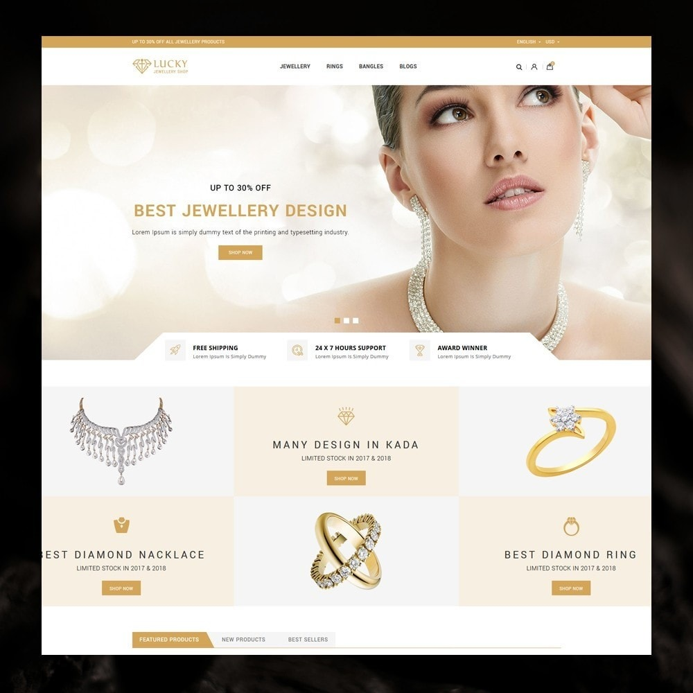 theme - Bijoux & Accessoires - Lucky - The Jewelry shop - 2