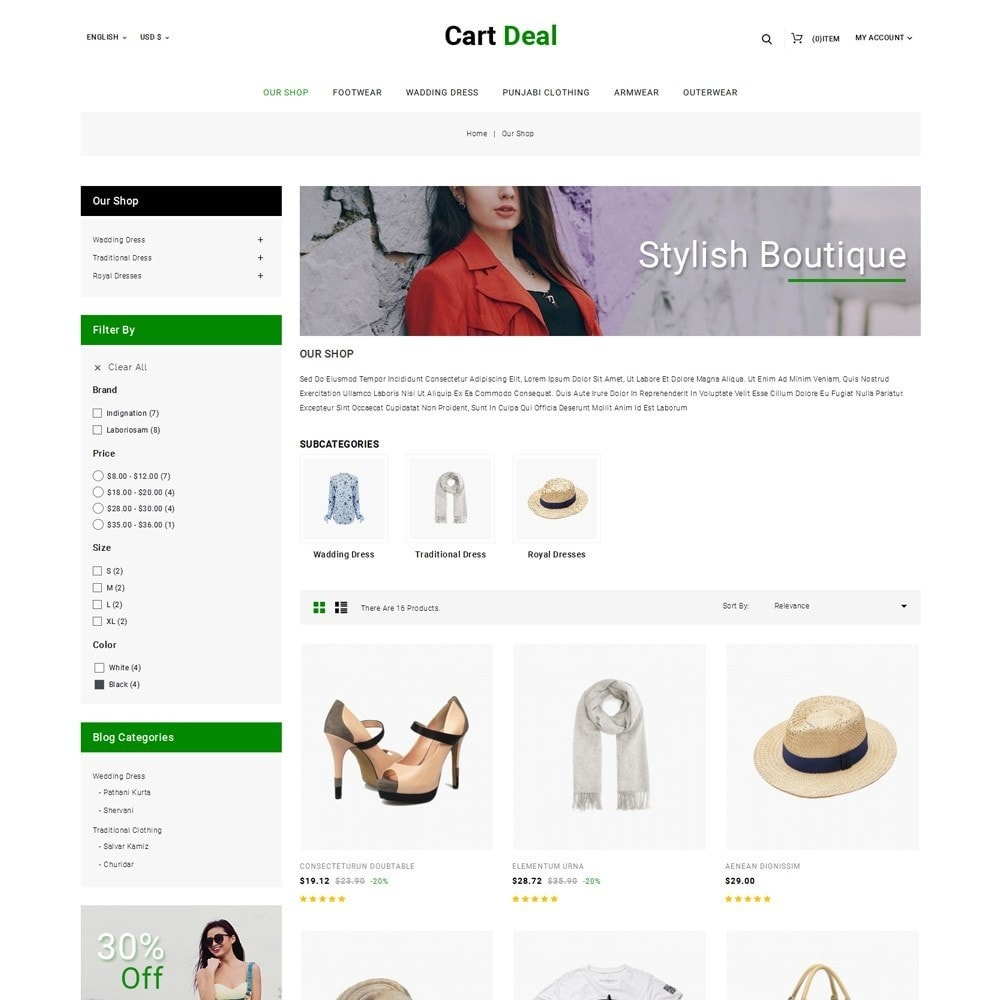 theme - Fashion & Shoes - Cart Deal - The Fashion Store - 4