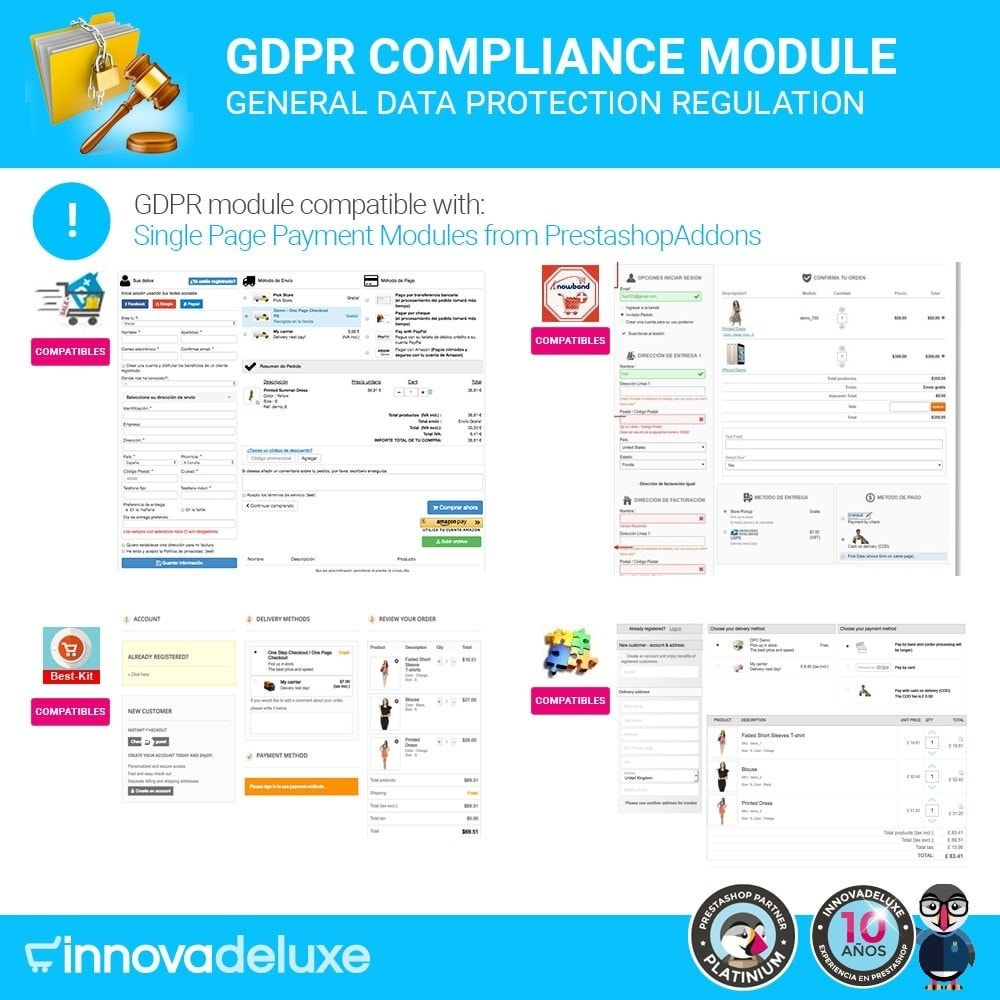module - Jurídico - Data privacy extended (data protection law) - GDPR - 18