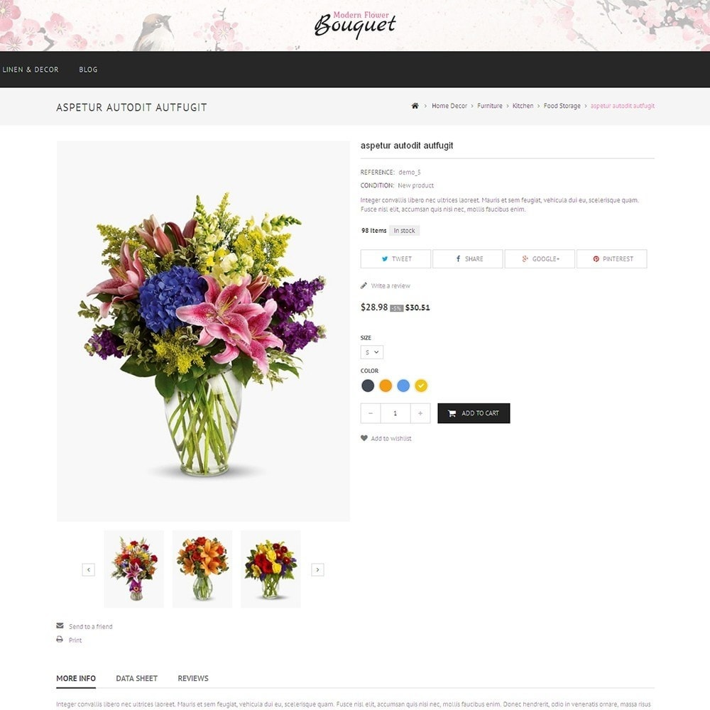 theme - Gifts, Flowers & Celebrations - Flower Store - 6