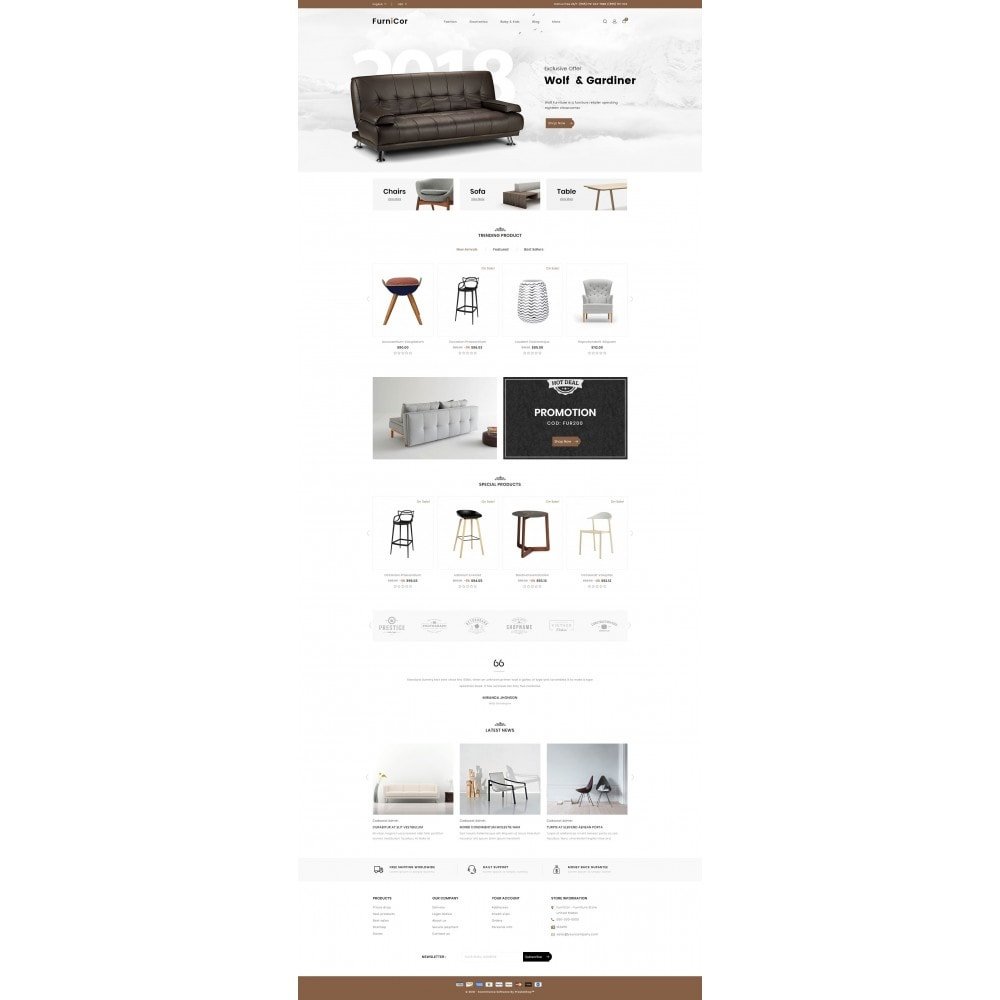 theme - Home & Garden - Furnicor - Furniture Store - 2
