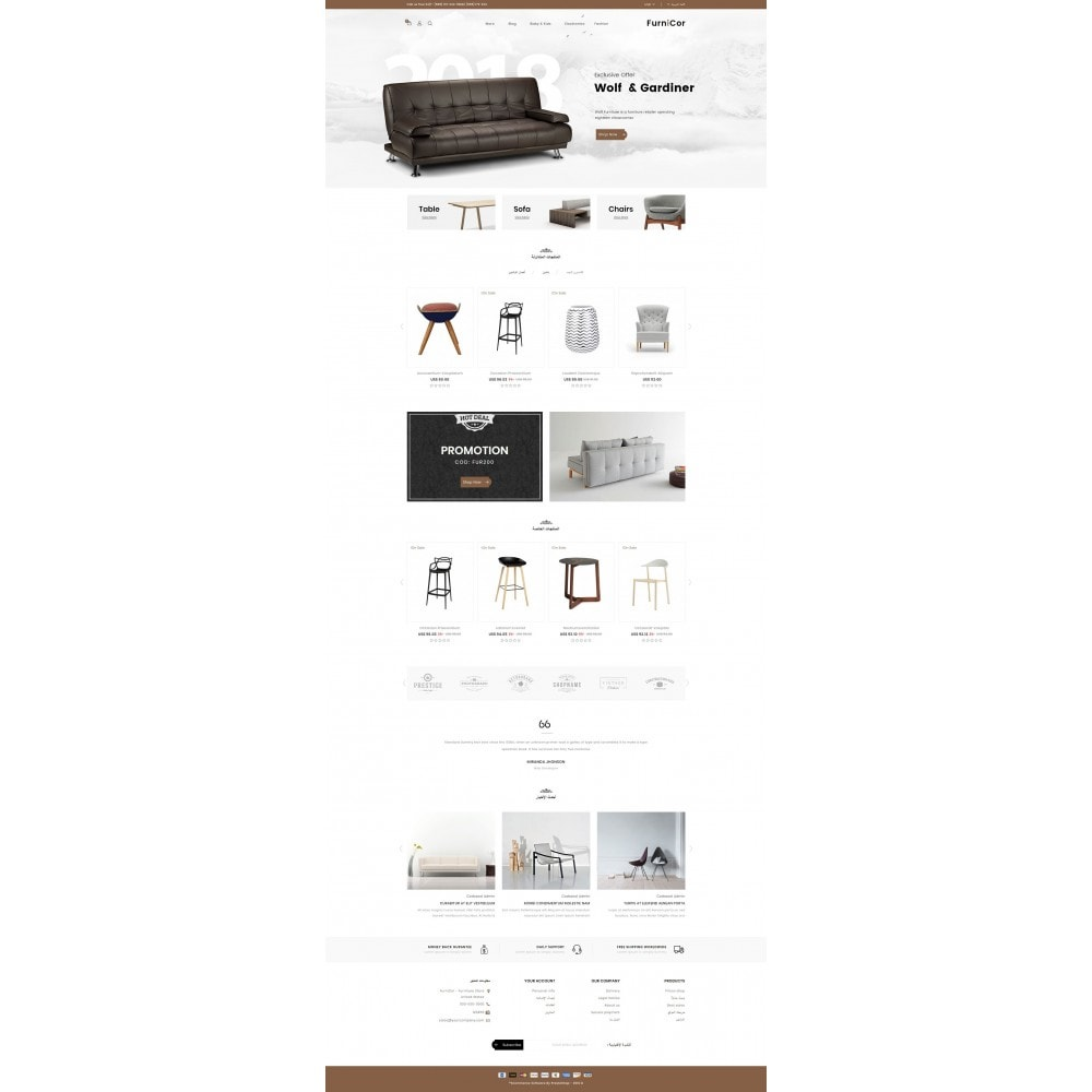 theme - Home & Garden - Furnicor - Furniture Store - 10