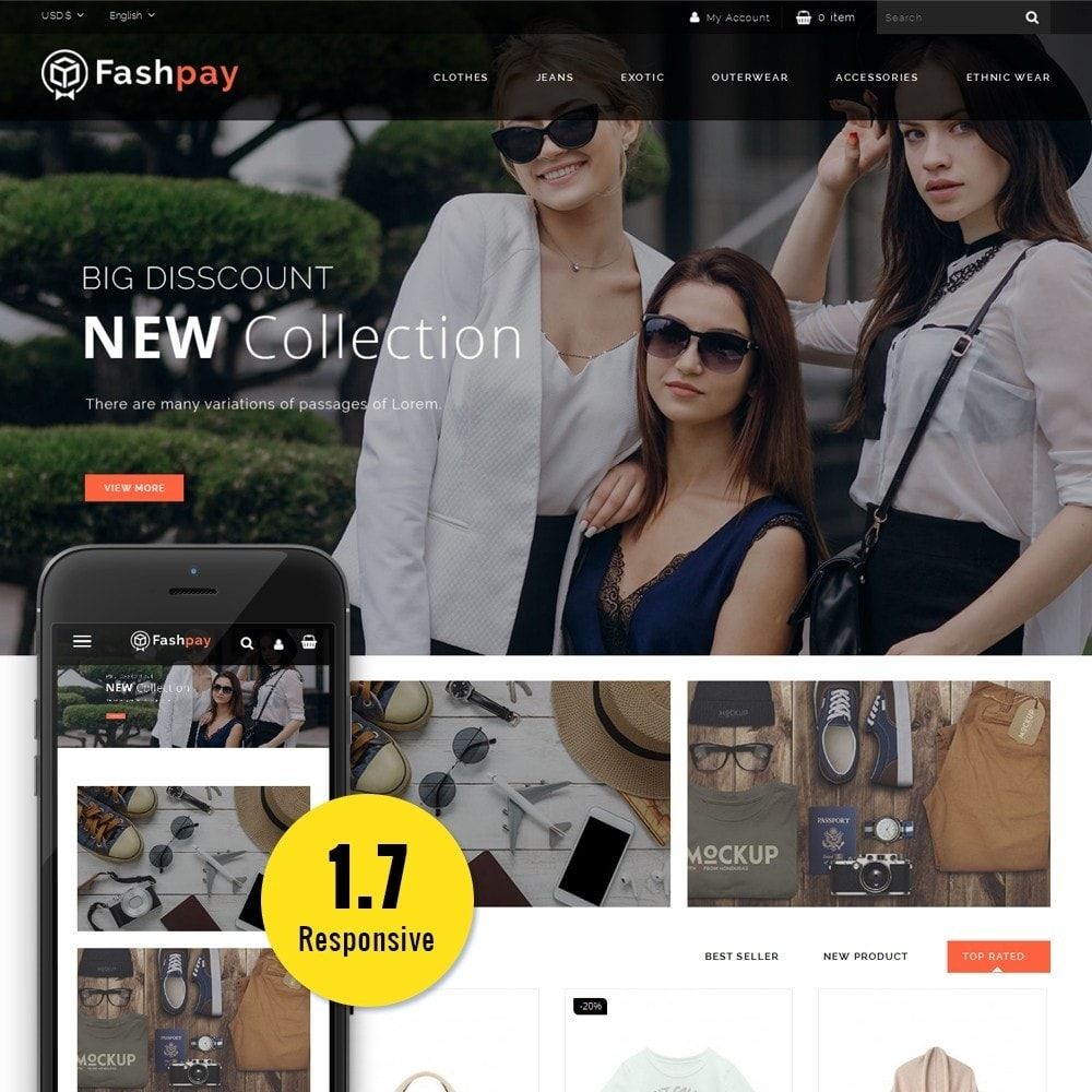 theme - Mode & Schuhe - Fashpay Fashion Store - 1