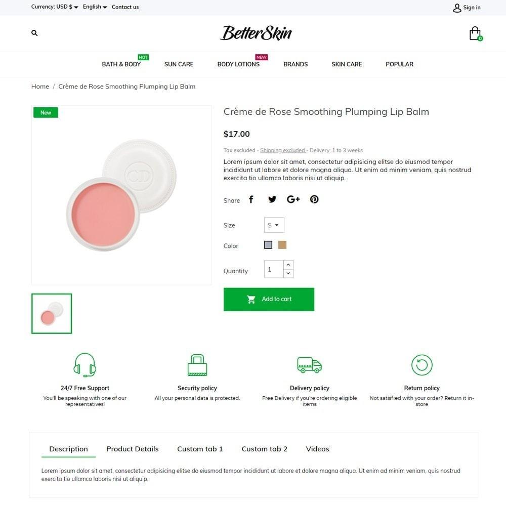 theme - Health & Beauty - BetterSkin Cosmetics - 5