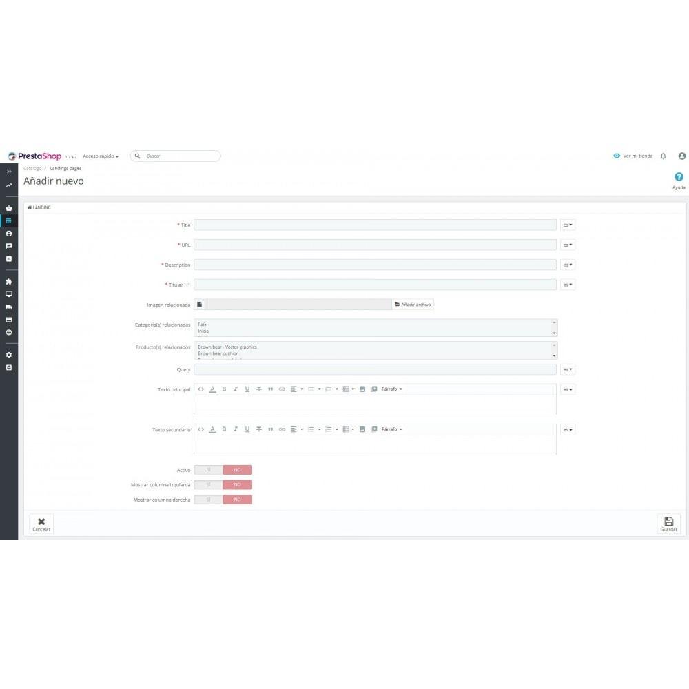 module - Естественная поисковая оптимизация - Landing SEO SEM - 4