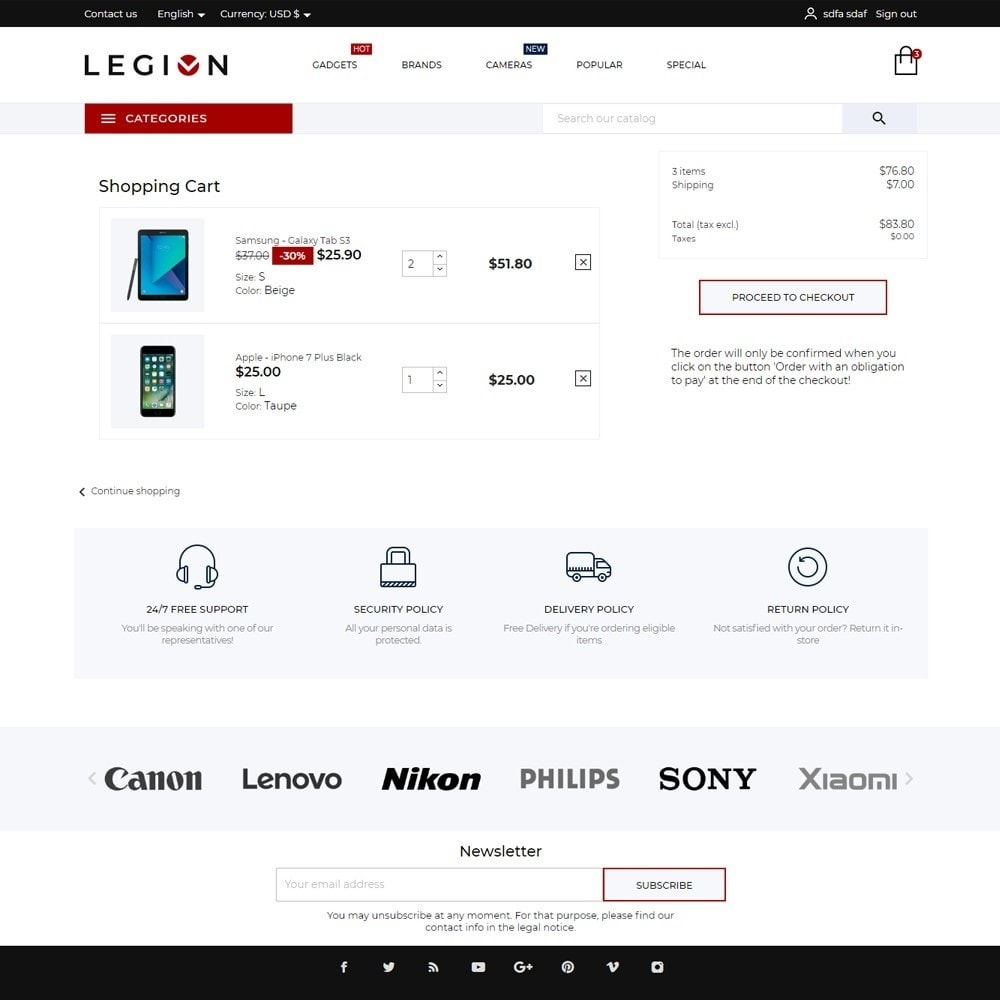 theme - Electronics & Computers - Legion - High-tech Shop - 7