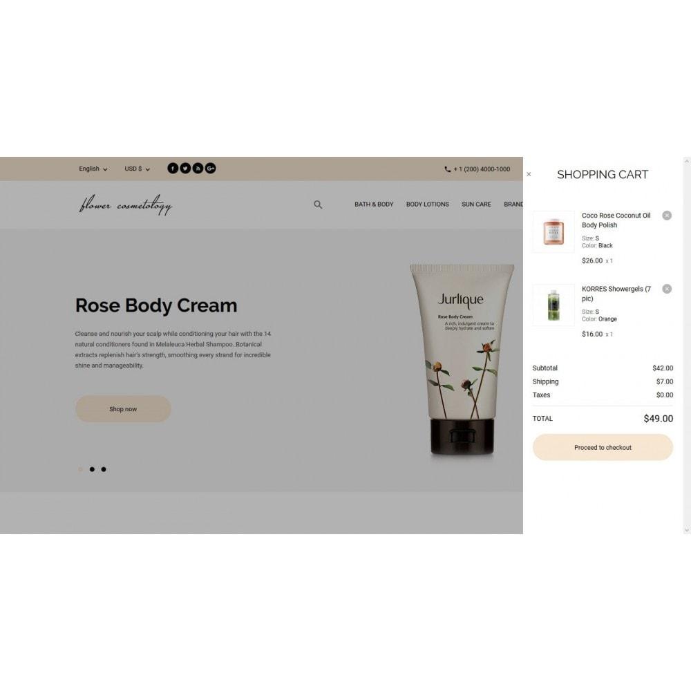 theme - Health & Beauty - FlowerCosmetology Cosmetics - 7