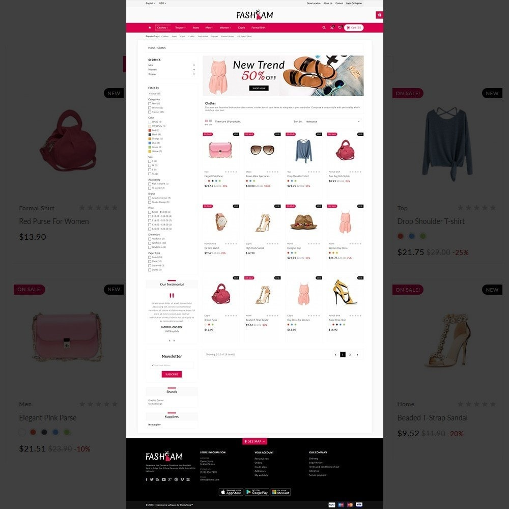 theme - Fashion & Shoes - The Style –Fashion Store - 3