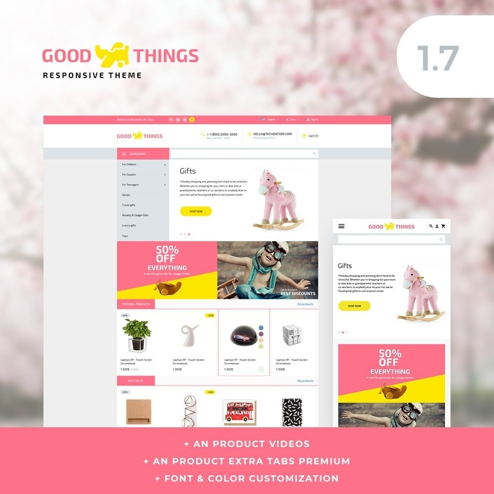 theme - Home & Garden - GoodThings - 1