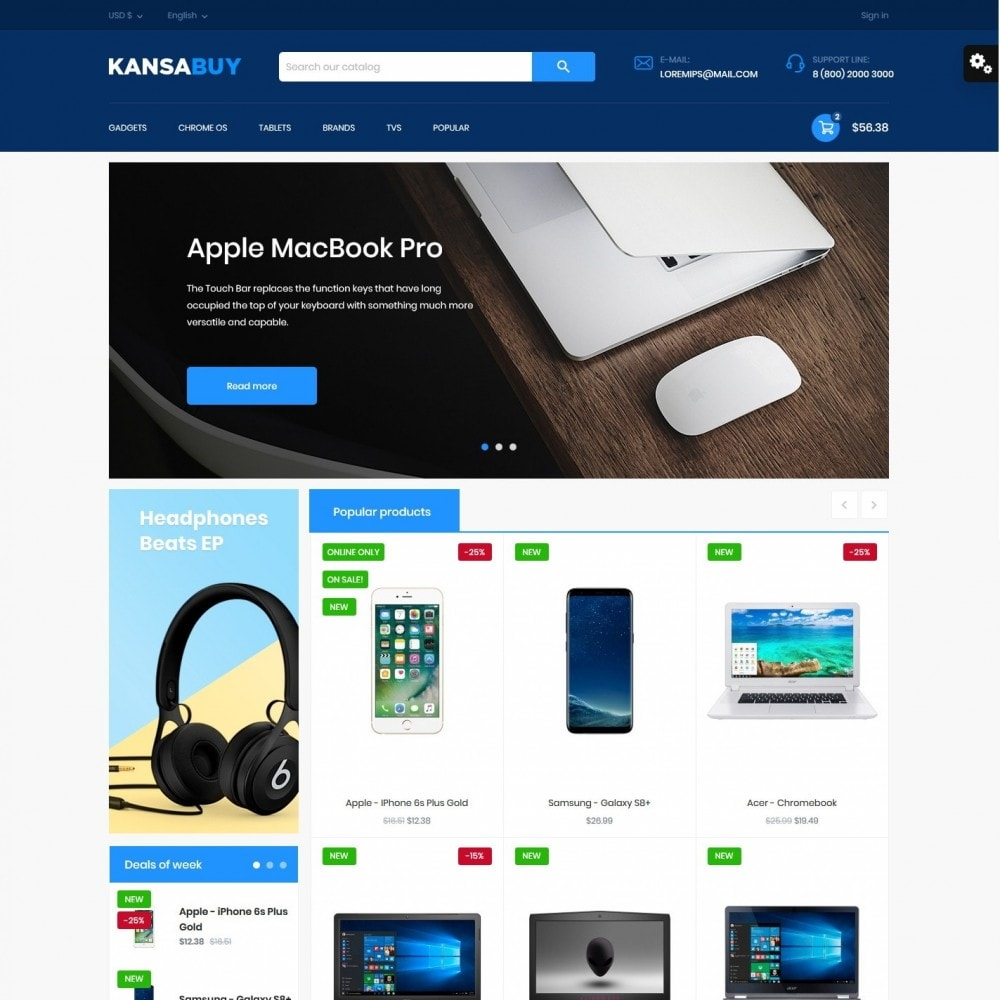 theme - Electronics & Computers - Kansabuy - High-tech Shop - 2