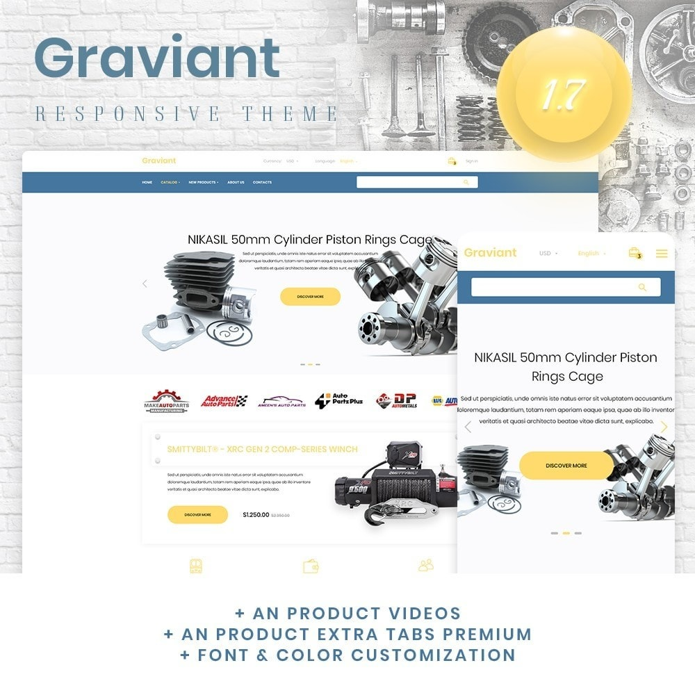 theme - Automotive & Cars - Graviant - 1