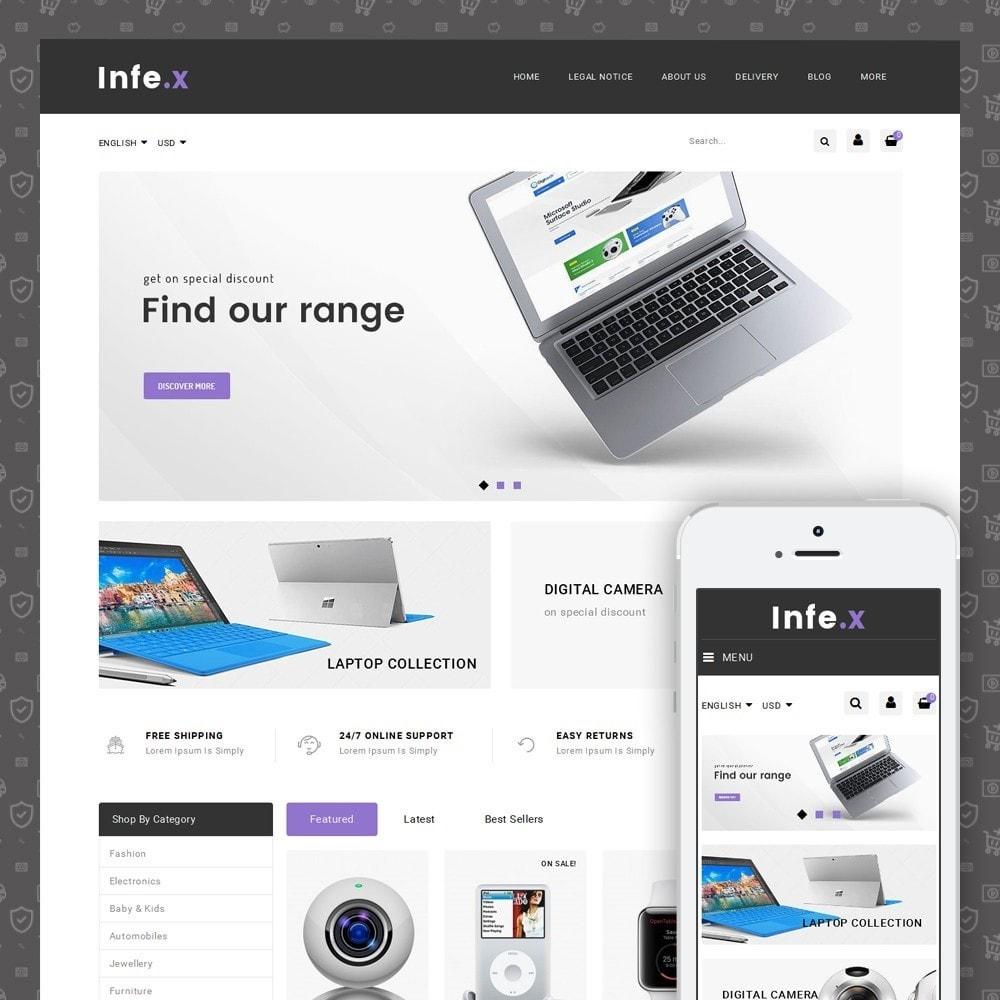 theme - Электроника и компьютеры - Infex - Electronic Store - 1