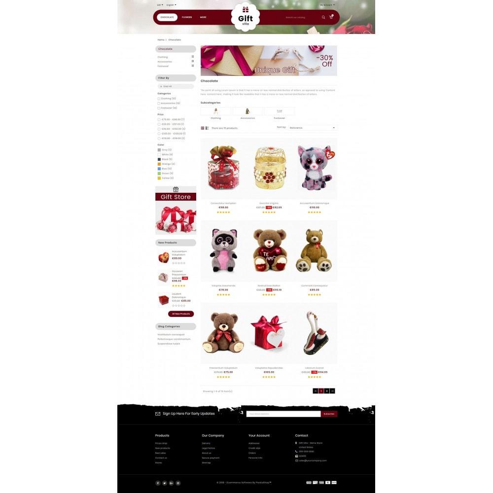 theme - Presentes, Flores & Comemorações - Gift Villa - 3