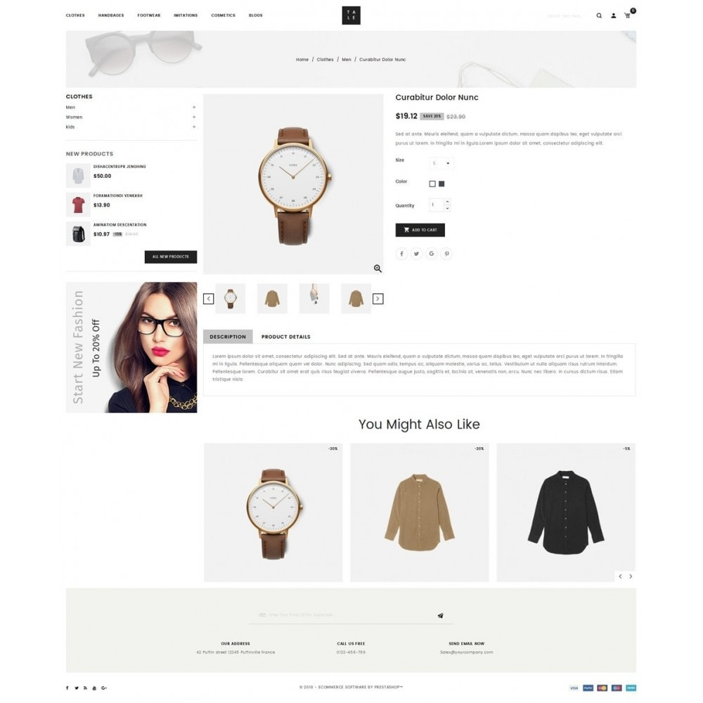 theme - Moda & Calzature - TALE - Fashion Store - 4