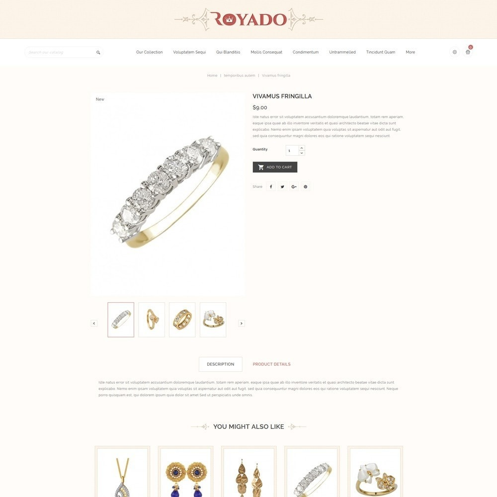 theme - Jewelry & Accessories - Royado - The Beauty Shop - 6