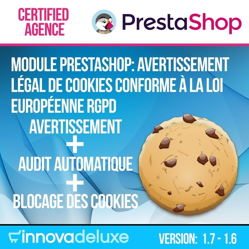 module - Législation - Loi des Cookies RGPD (Avi - Audit - Blocage) - 1