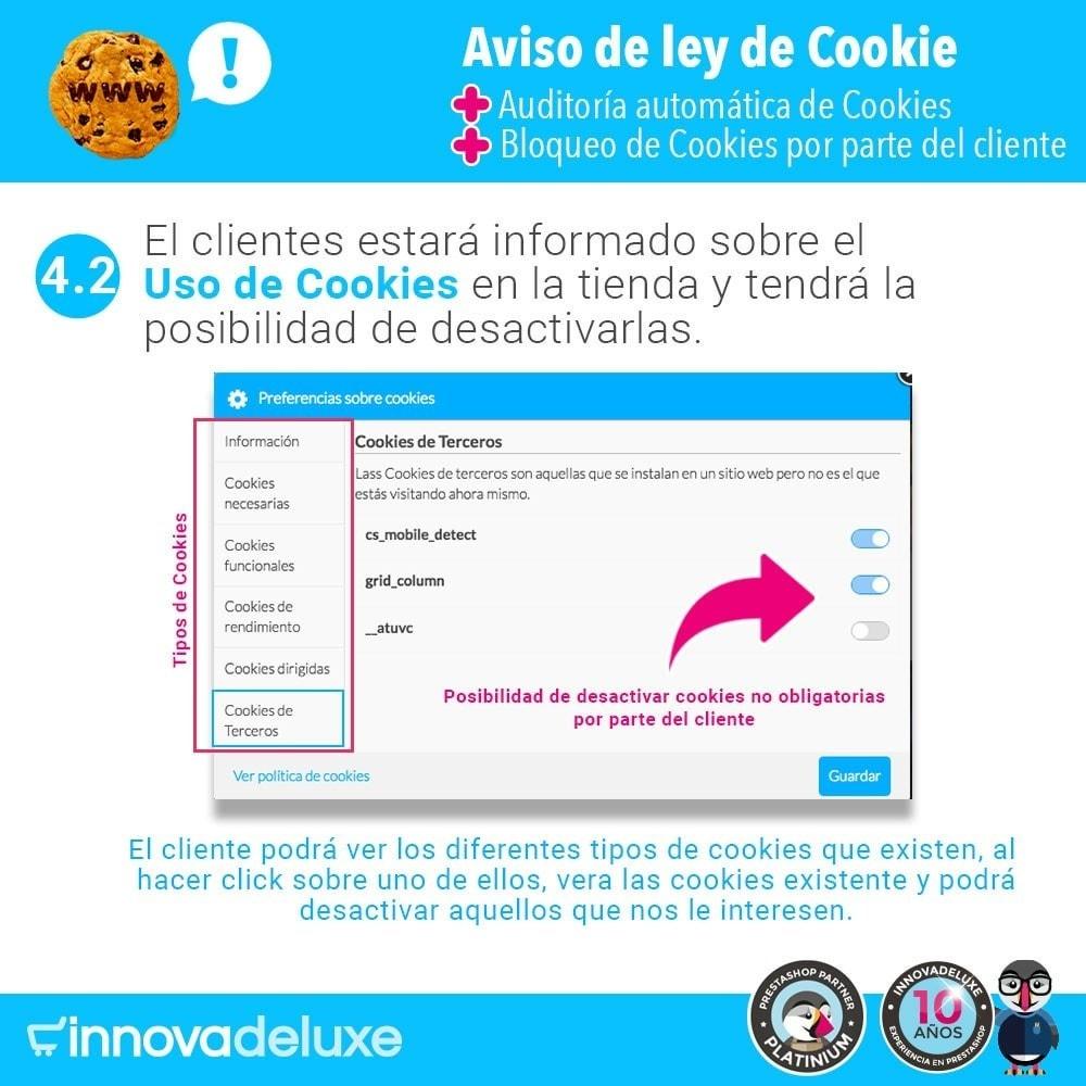 module - Marco Legal (Ley Europea) - Ley de Cookies RGPD/LOPD (Aviso - Auditoría - Bloqueo) - 7