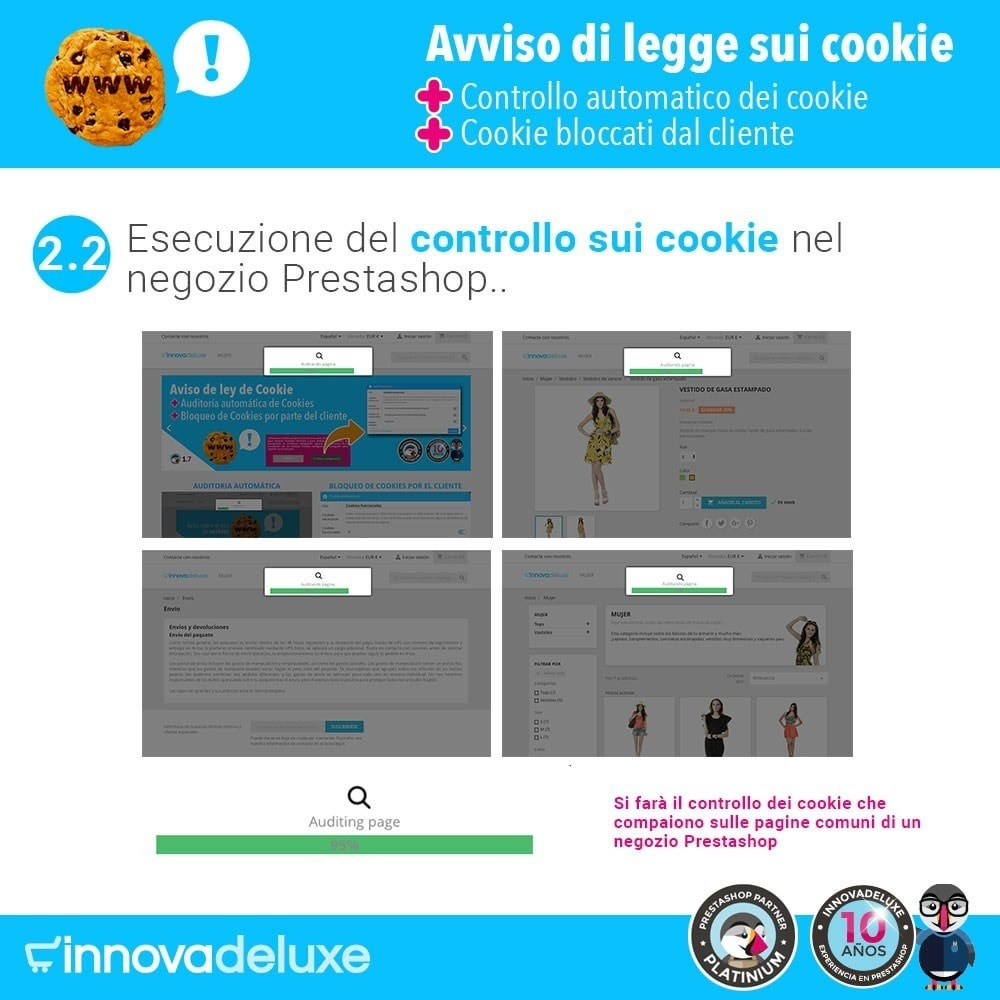 module - Legale (Legge Europea) - Legge sui cookie RGPD (Avviso - Controllo - Blocco) - 4