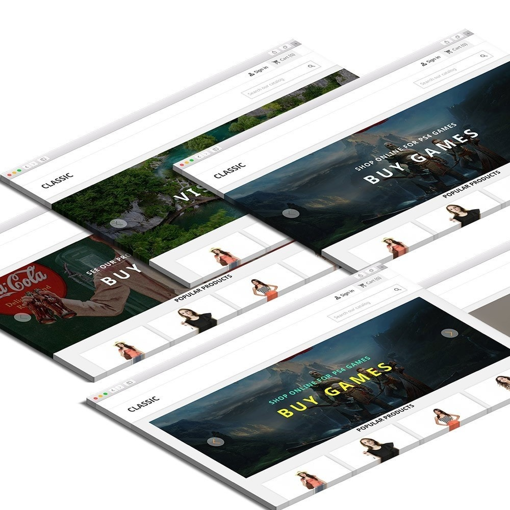 module - Slider & Gallerie - React Image Slider - 2