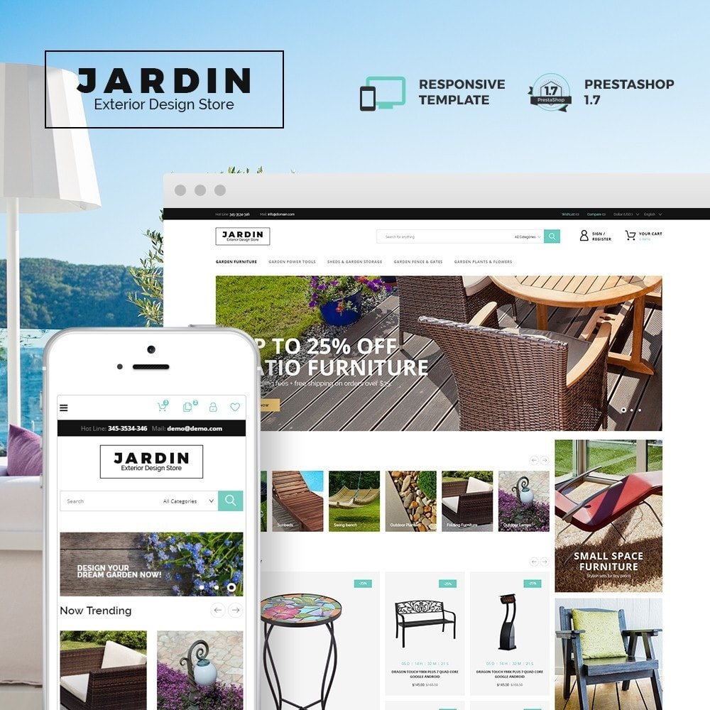 theme - Home & Garden - Jardin - Exterior Design Store - 1