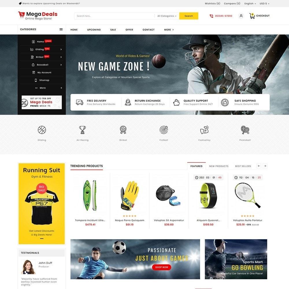 theme - Sport, Aktivitäten & Reise - Mega Sport Deals - 2
