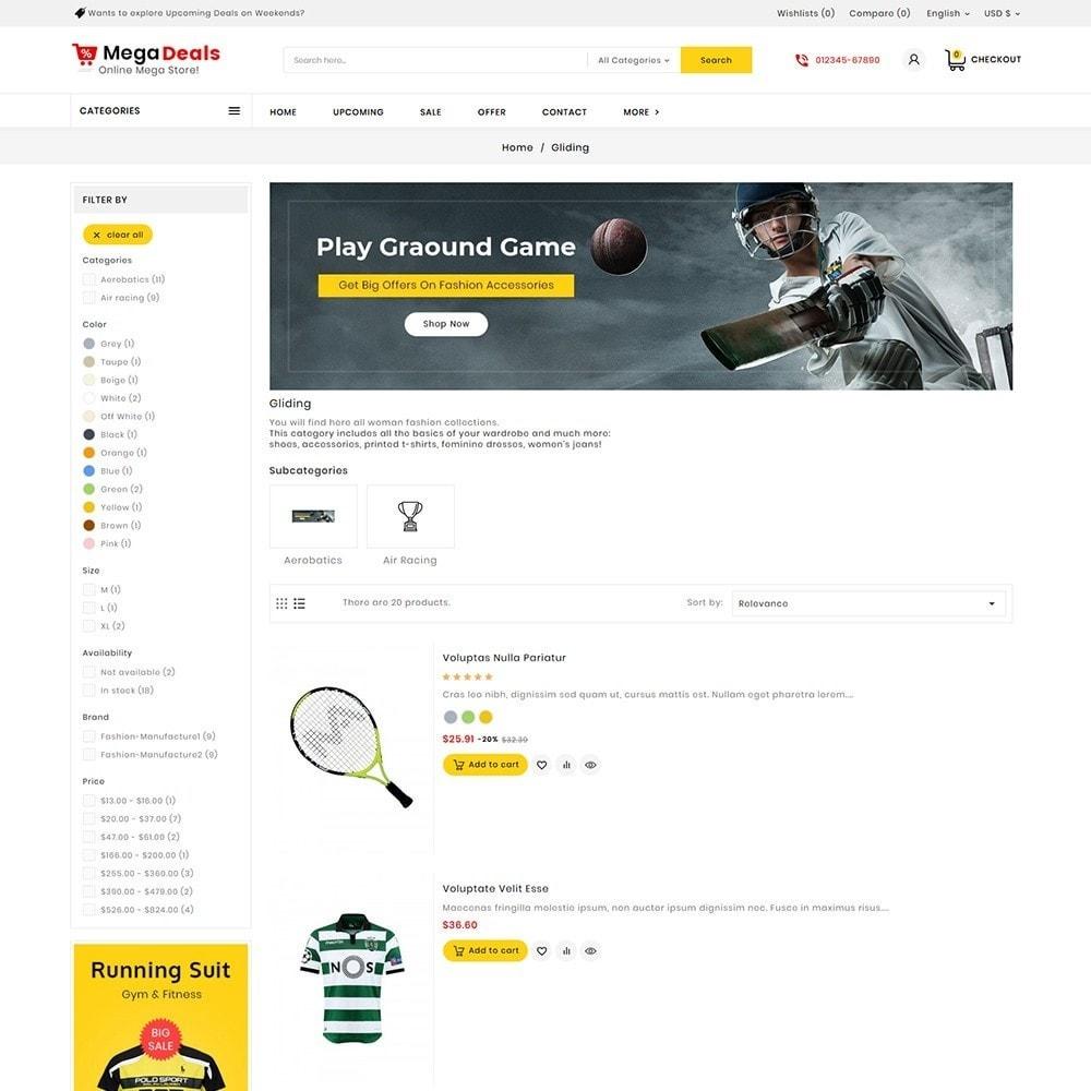 theme - Sport, Aktivitäten & Reise - Mega Sport Deals - 5