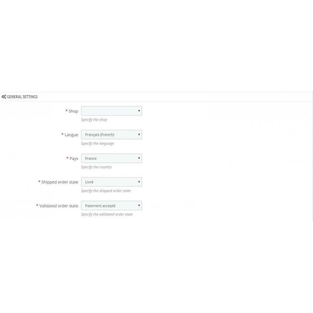 module - Fast & Mass Update - Winparf import export - 1