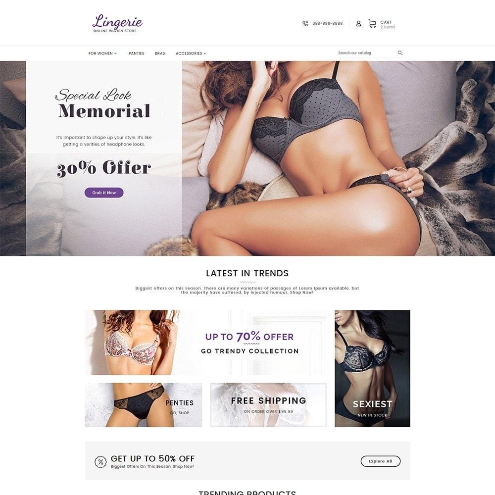 theme - Lingerie & Adult - Lingerie Women Shop - 2
