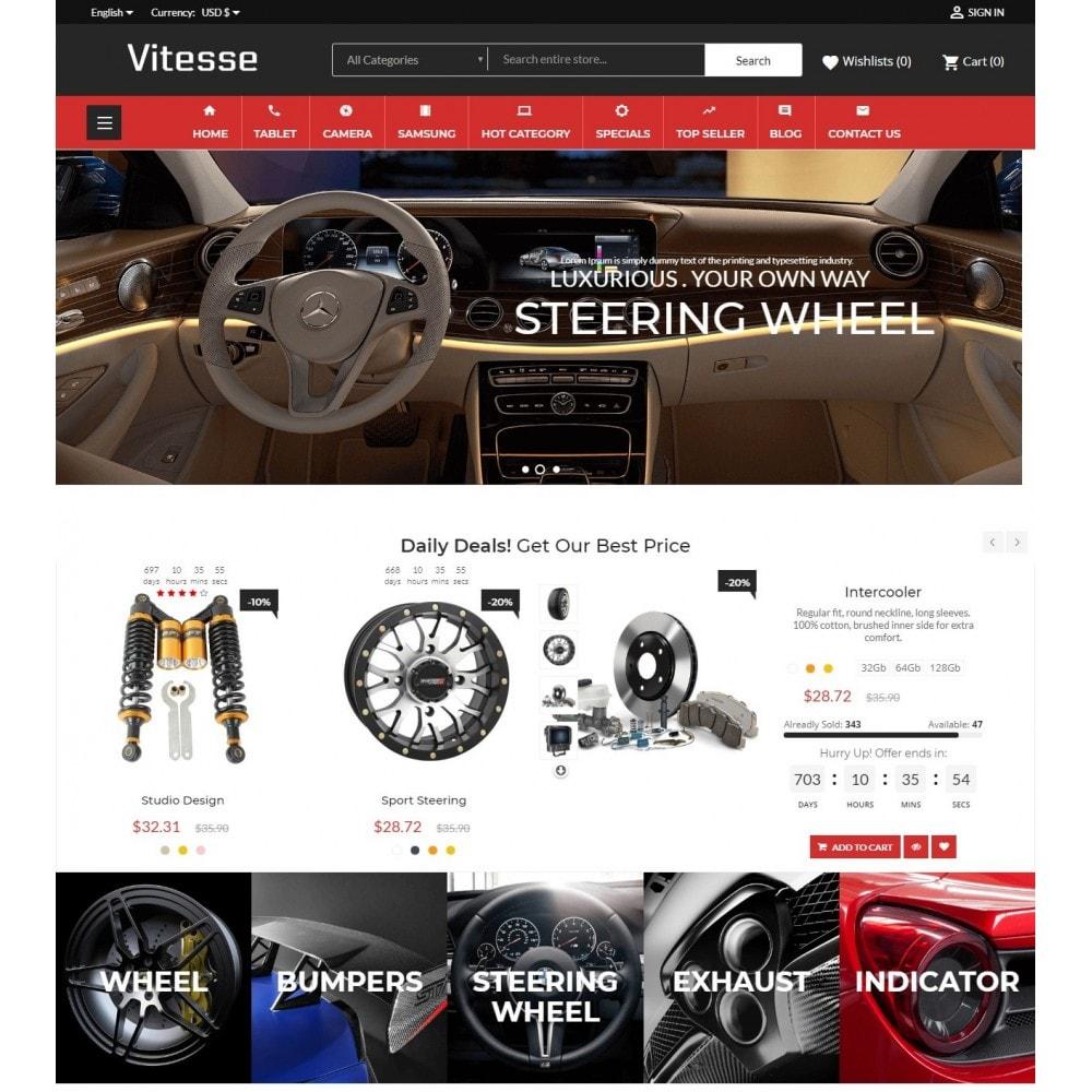 theme - Deportes, Actividades y Viajes - Vitesse Car & Moto Sport Store - 2