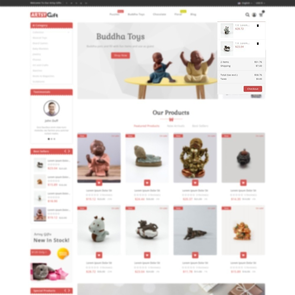theme - Gifts, Flowers & Celebrations - Gift Store - 7