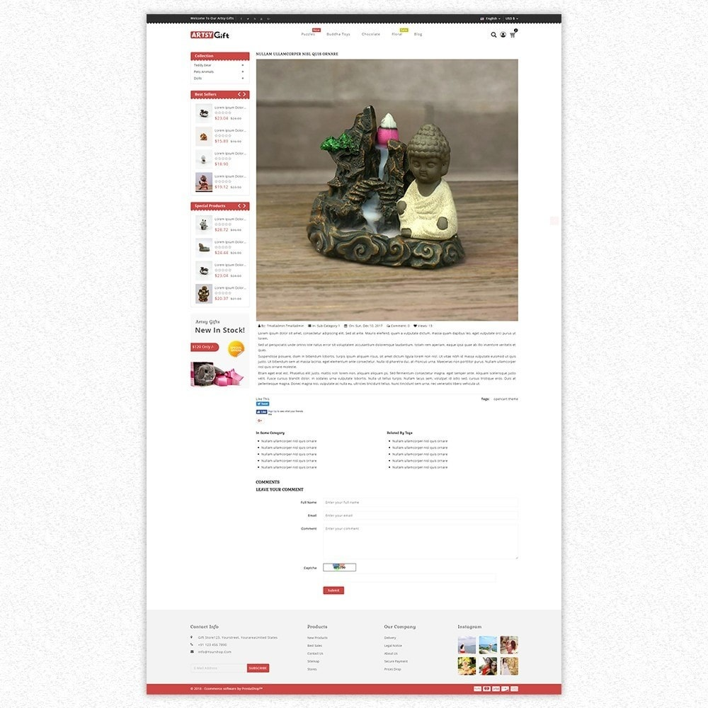 theme - Gifts, Flowers & Celebrations - Gift Store - 8