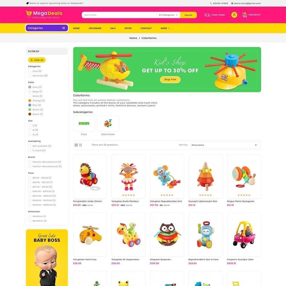 theme - Crianças & Brinquedos - Mega Deals Kid Toys - 4