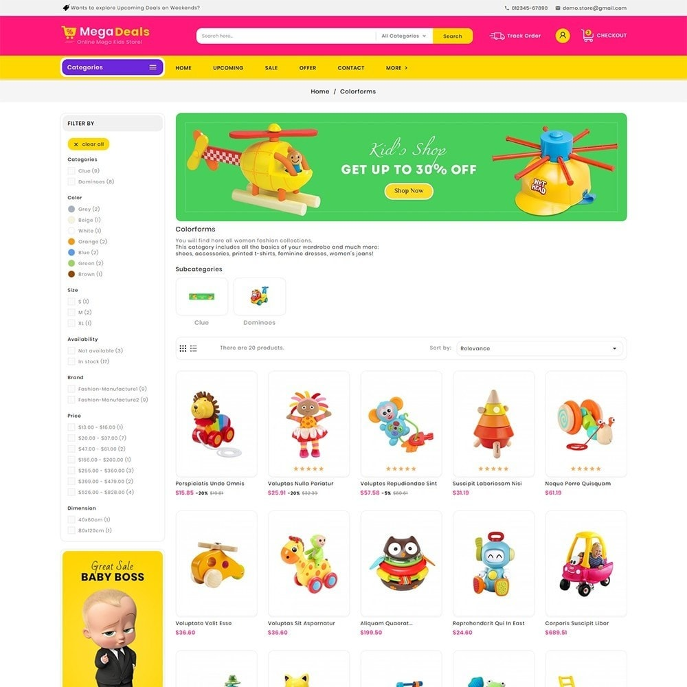theme - Kinderen & Speelgoed - Mega Deals Kid Toys - 4