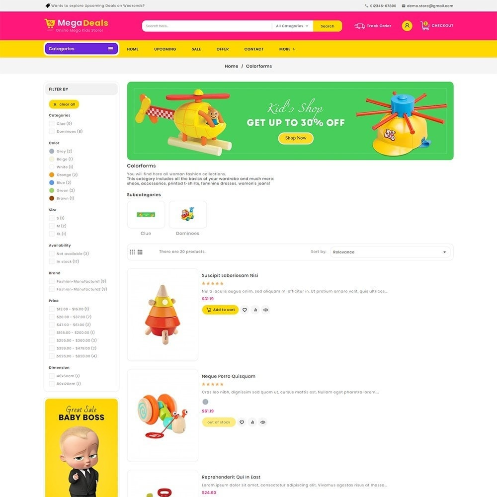 theme - Crianças & Brinquedos - Mega Deals Kid Toys - 5