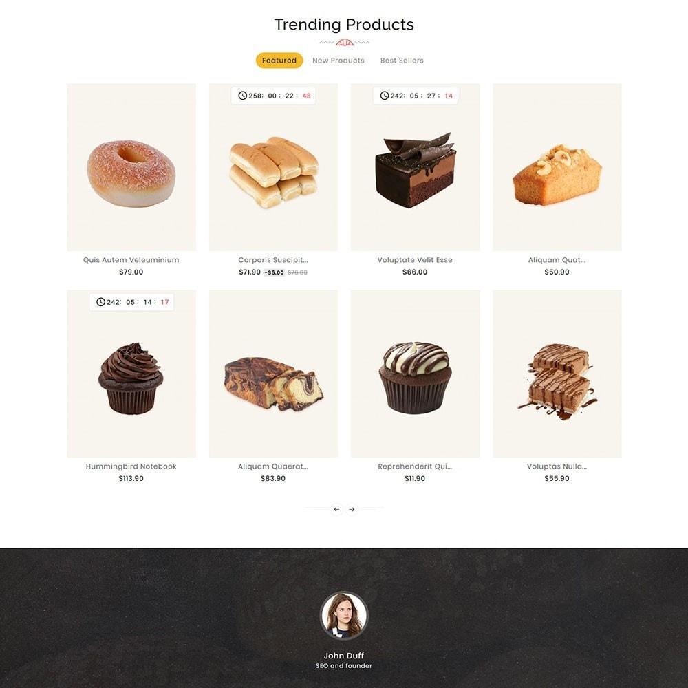 theme - Food & Restaurant - Breadly - Bakery & Cakes - 3