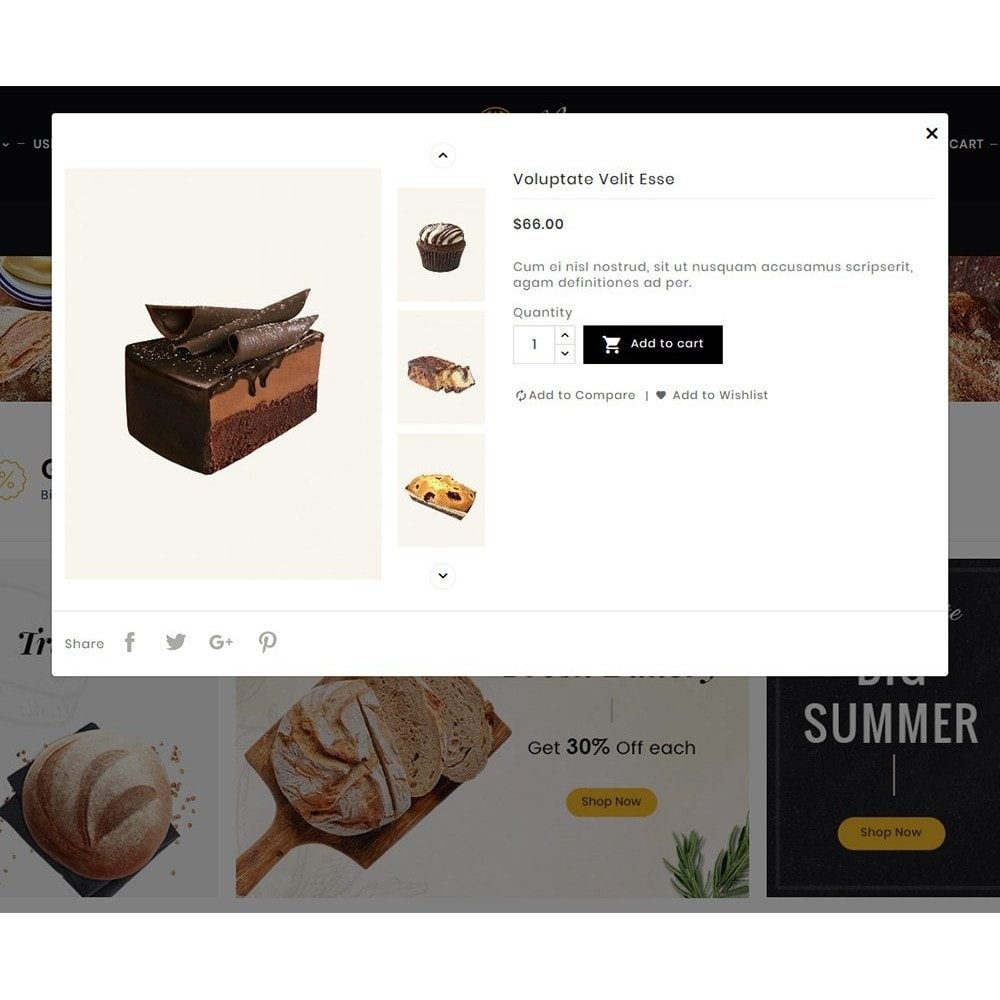 theme - Food & Restaurant - Breadly - Bakery & Cakes - 10
