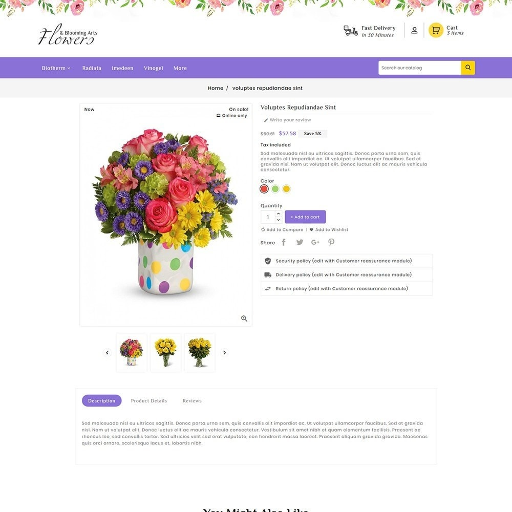 theme - Gifts, Flowers & Celebrations - Flowers & Blooming Arts - 6