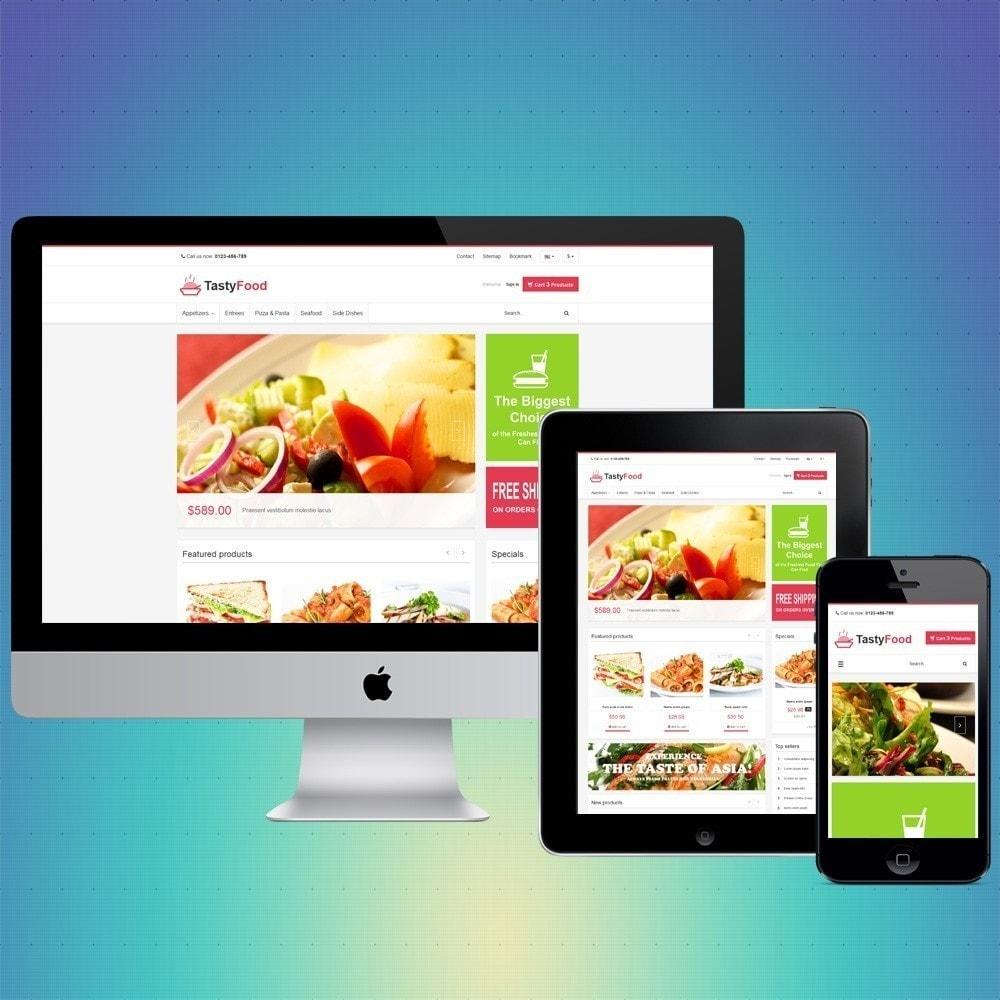 theme - Gastronomía y Restauración - VP_TastyFood Store - 1