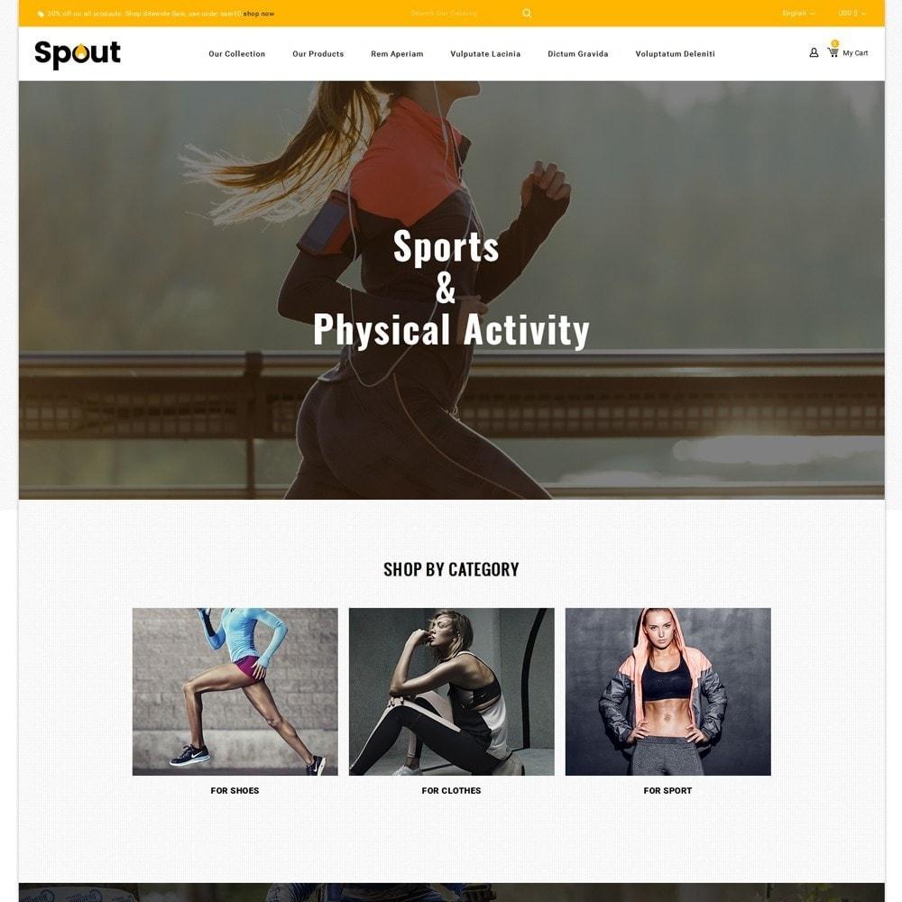 theme - Deportes, Actividades y Viajes - Spout - The Sport Shop - 2