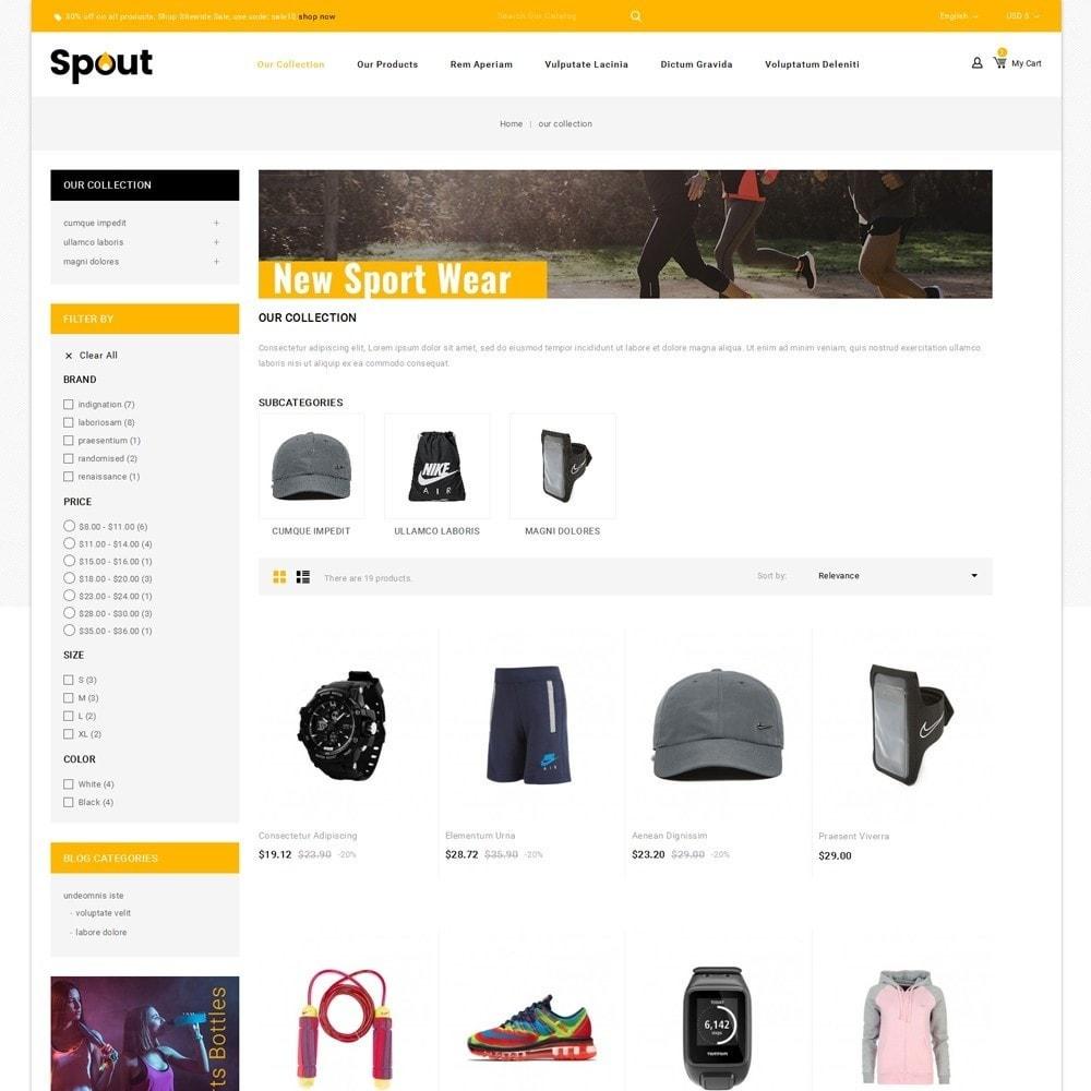 theme - Deportes, Actividades y Viajes - Spout - The Sport Shop - 4