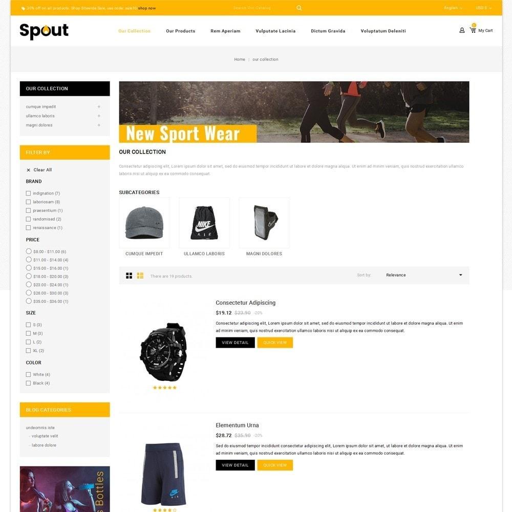 theme - Deportes, Actividades y Viajes - Spout - The Sport Shop - 5