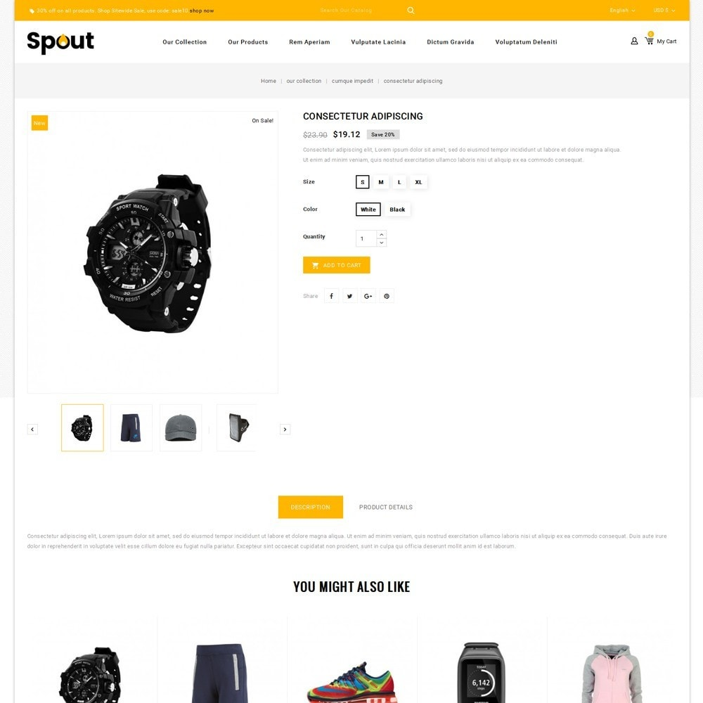theme - Desporto, Actividades & Viagens - Spout - The Sport Shop - 6