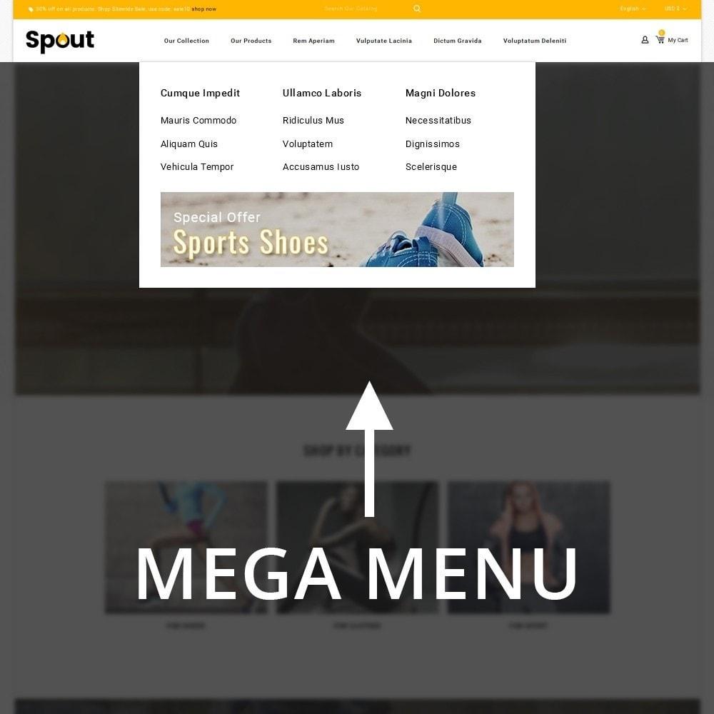 theme - Deportes, Actividades y Viajes - Spout - The Sport Shop - 9